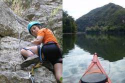 Ferrata + kayak