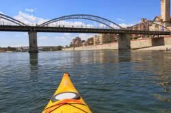 Travesías en kayak por etapas