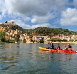 De Móra a Miravet, Kayaks